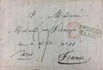 [Italie. Voyage épistolaire manuscrit. 1847]..