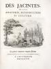 Des Jacinthes, de leur anatomie, reproduction et culture.. SAINT-SIMON (Maximilien-Henri de);