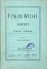 Richard Wagner à Bayreuth. Traduit par Marie Baumgartner avec l'autorisation de l'auteur.. NIETZSCHE (Friedrich).