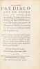 Traicté par dialogue de l'énergie ou opération des diables, Traduit en Fràçoys, du Grec de Michel Psellus poete et Philosophe, precepteur de ...