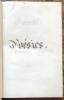 [Manuscrit]. Recueil de Poésies légères de Charlemagne Dupuis.. DUPUIS (Charlemagne) & BALZAC (Honoré de).