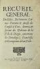 [Dieppe]. Recueil général des Édits, Déclarations, Lettres patentes et Arrests du Conseil d'État donnez en faveur des habitans de la ville de Dieppe, ...