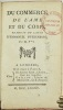 Du Commerce, de l'âme et du corps. Traduit du latin d'Emmanuel Swedenborg. Par M. P**.. SWEDENBORG Emanuel.