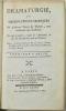 Dramaturgie, ou Observations critiques sur plusieurs pièces de théâtre, tant anciennes que modernes, ouvrage intéressant traduit de l'allemand de feu ...