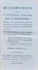 De l'Influence de la Révolution française sur la population, ouvrage où l'on prouve qu'elle a augmenté depuis dix ans, où l'on en donne les causes ...