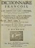 Dictionnaire étymologique, ou Origines de la Langue françoise.. MENAGE (Gilles).