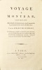 Voyage à Montbar, contenant des détails très intéressans sur le caractère, la personne et les écrits de Buffon.. HÉRAULT DE SÉCHELLES (Marie-Jean).