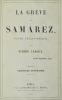 La Grève de Samarez. Poème philosophique.. LEROUX (Pierre).