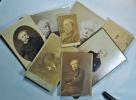 Collection de 8 portraits photographiques d'Alexandre Dumas fils.. DUMAS Fils (Alexandre).