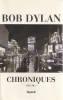 Chroniques vol. 1,. DYLAN Bob