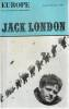 Europe n° 561-562 - Jack London,. COLLECTIF (revue)