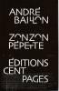Zonzon Pepette,. BAILLON ANdré,