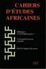 Cahiers d'études africaines n° 157: Heidegger un ethnophilosophe? - L'afro-américanisme racialisé - Deuil et rapports de genre,. COLLECTIF (revue)