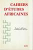 Cahiers d'études africaines n° 129 - Mesurer la différence: l'anthopologie physique,. COLLECTIF (revue)
