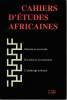 Cahiers d'études africaines n° 158: Griaule et son école - Excision et corconcision L'esclavage colonial. COLLECTIF (revue)