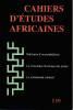Cahiers d'études africaines n° 148: Naissance d'un prophétisme - La conscience historique des jeunes - Le malentendu colonial,. COLLECTIF (revue)