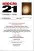 Revue Siècle 21 n° 35, hiver 2019: Littérature colombienne contemporaine (2), . Collectif (revue),
