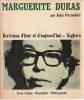 Marguerite Duras,. VIRCONDELET Alain (texte),