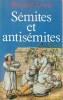 Sémites et antisémites,. LEWIS Bernard