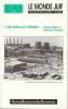 Le monde juif n° 151 (nouvelle série) - Des noms aux cendres: Industrie, éthique et crime contre l'humanité,. COLLECTIF (revue),