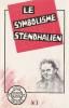 Le symbolisme stendhalien, . COLLECTIF, RIOUX Jean-Claude (textes présentés et réunis par),