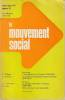 Le Mouvement social n° 90, janviers-mars 1975: VIETNAM L'immigration en France (1926-1930). COLLECTIF (revue),