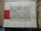 Carte d'etat-major de Chatillon sur Seine - Echelle 1/100.000. Collectif