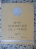 Revue historique de l'armee - 12e annee - 1956 - Numero 4. Collectif
