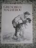 Poesies en patois du Dauphine - Grenoblo malherou - Grenoble malheureux. Blanc dit la Goutte