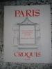 Paris - Cent-vingt dessins sur la formation de la ville - Croquis. Jean-Jacques Terrin