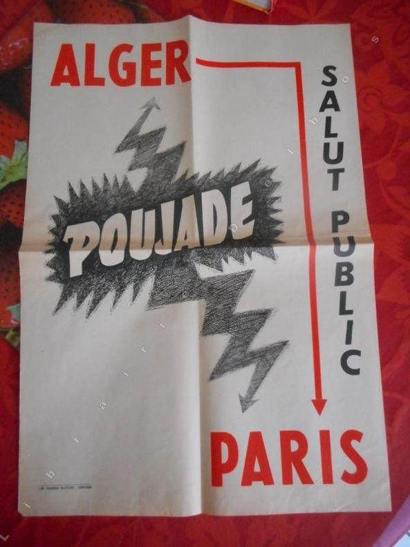 Alger Paris .... ( POUJADE Pierre )