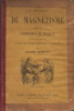 LES MERVEILLES DU MAGNETISME SUIVIES DES APHORISMES DE MESMER. TRISMEGISTE JOHANNES.