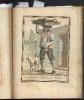 marchand de fruits a Naples. GRASSET de SAINT SAUVEUR Jacques (GRAVURE)