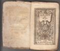Almanach des Muses 1792 ou Choix des Poesies fugitives de 1791 -. Almanach des Muses