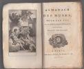 Almanach des Muses 1800 ou Choix des Poésies fugitives de 1799 -. Almanach des Muses