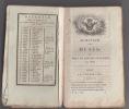 Almanach des Muses 1807 ou Choix des Poesies fugitives de 1806 -. Almanach des Muses