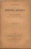 SCENES DE MOEURS ARABES,3e edition. RICHARD CH.