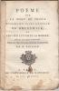 Poeme sur la mort du prince Maximilien-Jules-Leopold de Brunswick, et vers sur l'étude de la morale qui ont concouru pour le prix de l'Académie ...