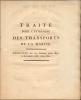 Traité pour l'entreprise de transports de la marine ,exercices des 100 derniers jours de 1807. PETIT MAUDETOUR DECRES etc