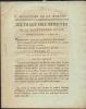 Ministere de la Marine,extrait des minutes de la secretairerie d'etat au Palais de Saint-Cloud,le 22 juillet 1806,. MARET, Hugues Bernard,duc de ...