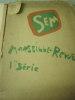 Album n°7  Marseille-Revue 1ère série - (1898) 14 Lithographies. couverture conservée et texte de presentation ( préface),aux bords effrangés. SEM ...