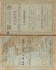 Carte agricole et industrielle de l'ALGERIE . ALGERIE [Jourdan Adolphe] 1879