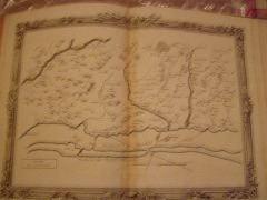 BRION DE LA TOUR  L carte coloriée encadrée d'une belle bordure gravée. Partie du Languedoc (47) DESNOS 1757, ,pliure mediane jaunie image 275x 365 ...