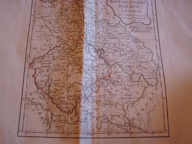 CARTE GEOGRAPHIQUE:: AFRIQUE MERIDIONALE 1816. Vaugondy, Robert de, Didier - Delamarche, Charles Francois