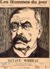 LES HOMMES DU JOUR, N° 37 OCTAVE MIRBEAU. A. DELANNOY et FLAX (pseudonyme de VICTOR MERIC)