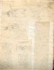 ALBUM DE DESSINS ANCIENS originaux d'ARCHITECTURE etc. ANONYME