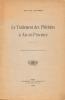 Le traitement des phlébites à Aix-en-Provence. Extrait de l'écho des Cévennes.. Dr. Jauffret.