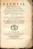 Recueil de piéces en prose et en vers, lues dans les assemblées publiques de l'Académie royale des belles-lettres de La Rochelle : dédié à Son Altesse ...