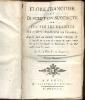 Flore françoise ou Description succincte de toutes les plantes qui croissent naturellement en France, disposée selon une nouvelle méthode d'analyse, & ...