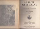 L'Egypte musulmane et les fondateurs de ses monuments.. DEVONSHIRE (Mme R.L.)